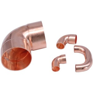 90 °copper elbow