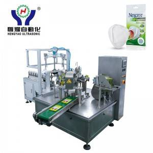 Fully-Automated 3D Folded Face Mask Packaging Machine