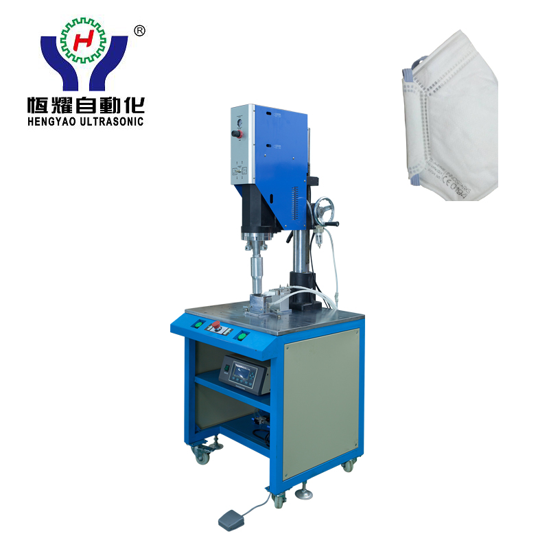 2017 Latest DesignFolded Face Mask Packaging Machine -