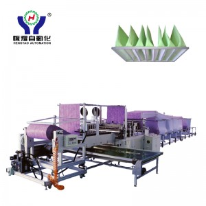 Automatic Air Filter Bag Making Machine