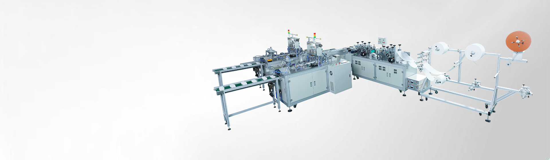 Automatic 3D Mask Making Machine<br/> (1+2 structure with high capacity)