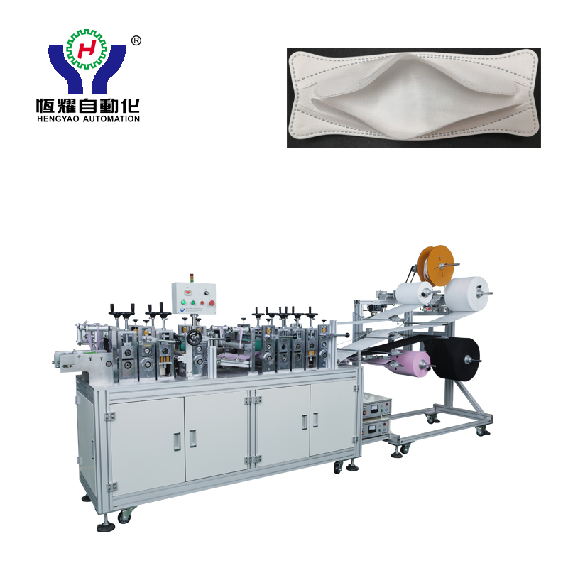 N95 Dustproof Fold Face Mask Blank Making Machine Featured Image