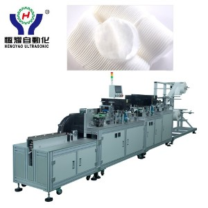 Nonwoven Cosmetic Cotton Puff Making Machine