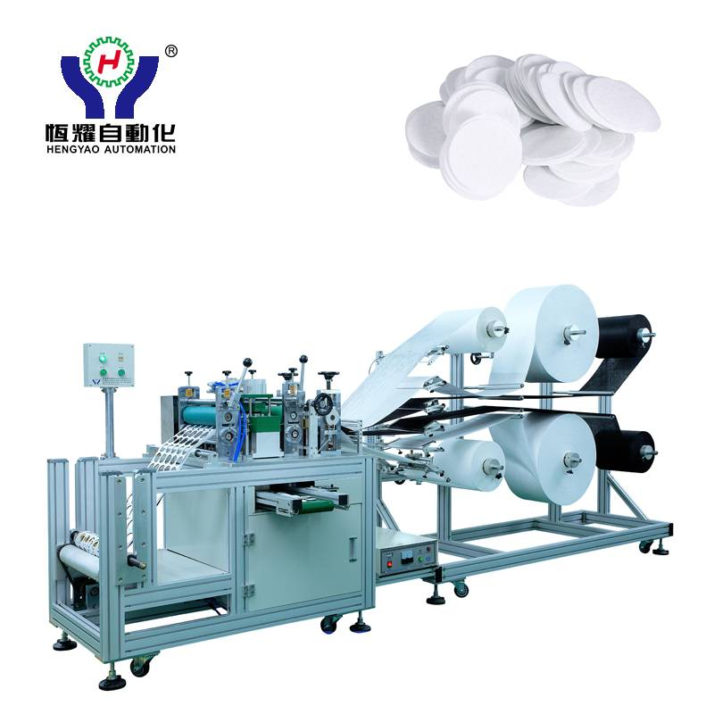 OEM/ODM Supplier Disposable Headrest Cover Making Machine -