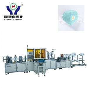 Full Automatic Fold Dust Mask with Breathing Valve Making Machine