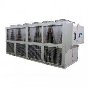 Luftkyld Low Temperature Skruv Chiller