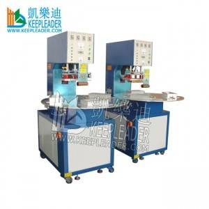 High Frequency Welding PVC Blister Sealing Machine for PVC_PET Blister High Frequency Sealing of Turntable PVC Blister Sealing
