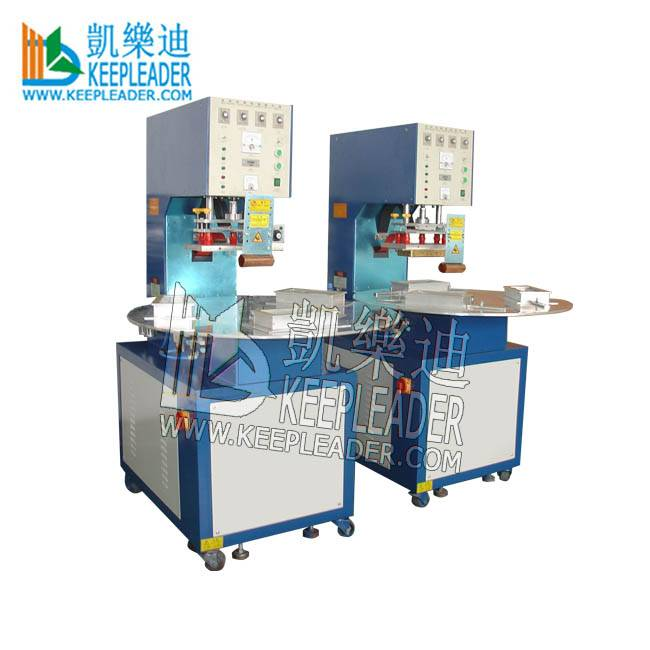 High Frequency Welding PVC Blister Sealing Machine for PVC_PET Blister High Frequency Sealing of Turntable PVC Blister Sealing Featured Image