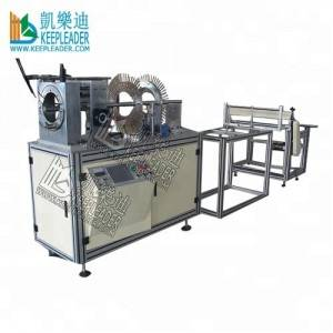 Plastic Cylindrical box forming machine of transparent cylinder auto making machine
