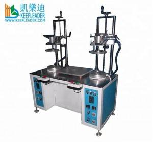 Clear Cylinder Edge Curling Machine of Plastic Cylinder Edge Forming Machine