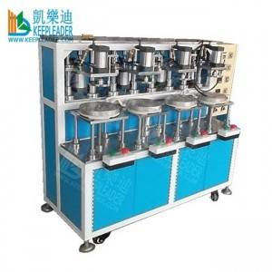 Plastic Cylinder Box Edge Forming Machine of PVC_PET Cylindrical Box Making