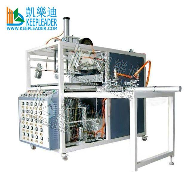 Small Vacuum Forming Machine of Blister Vacuum Thermoforming of Blister Vacuum Thermoforming machine of plastic cylinder box lid_cover making machine Featured Image