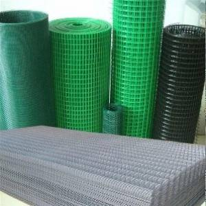 Manufacture welded wire mesh fence