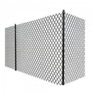 chain link fence for baseball fields 6′x12′ temporary chain link fence panel