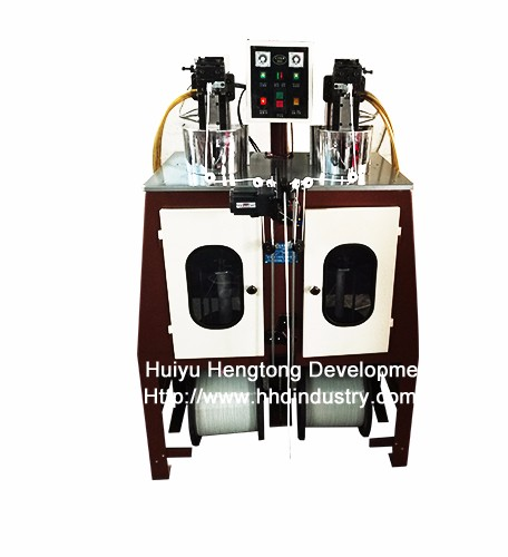 Super Speed ​​Nylon Rits Teeth Spiraling Machine