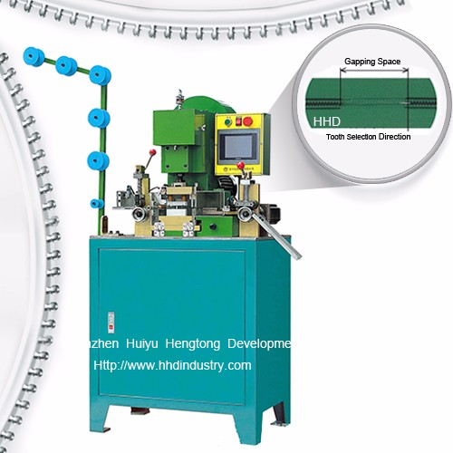 Auto Nylon Zipper CNC Gapping Machine