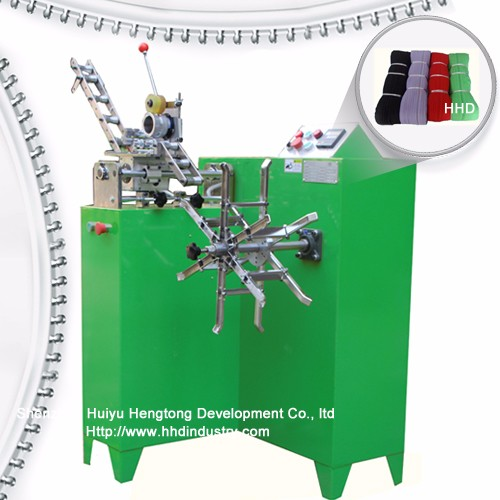 Zipper Rolling Machine With Adjustable Roller