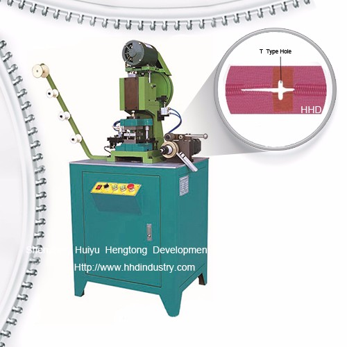 Auto Nylon Zipper Film Welding Machine