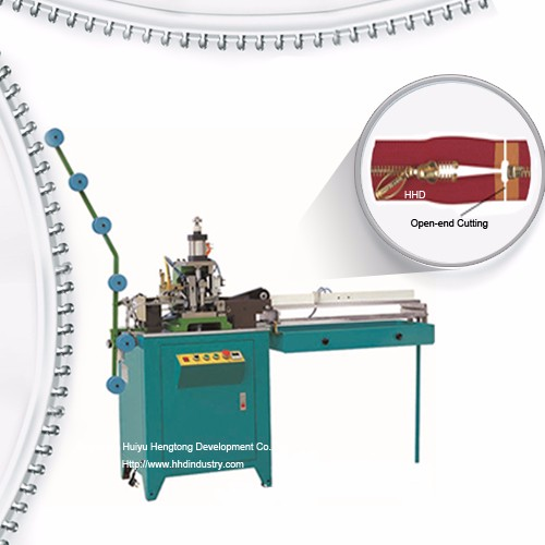 Auto Nylon Zipper Open End Cutting Machine