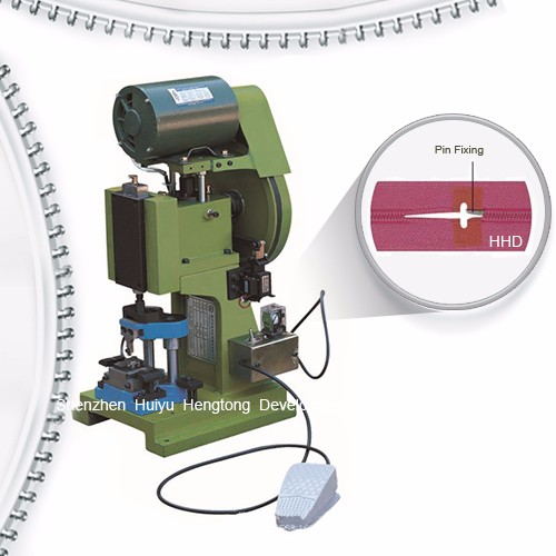 Semi Auto Nylon Zipper Pin Pressing Machine