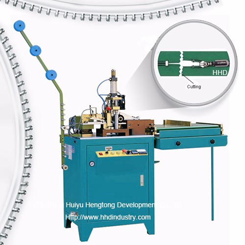 Auto Nailon Fermoar Zig Zag Cutting Machine