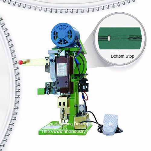 Yarı Avtomatik Nylon Zipper Bottom Stop Machine