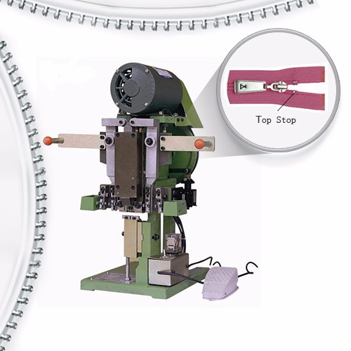 Erdi Auto Nylon kremailera Top Stop Machine