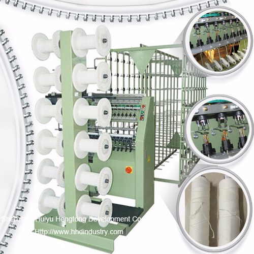 High Speed Metal Zipper Core Making Machine