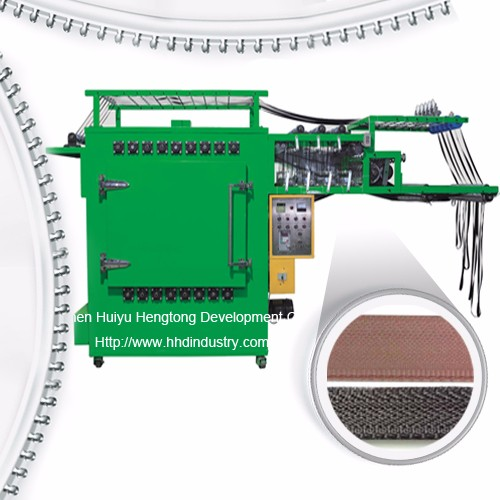 High Speed Metal Zipper Tape Ironing Machine