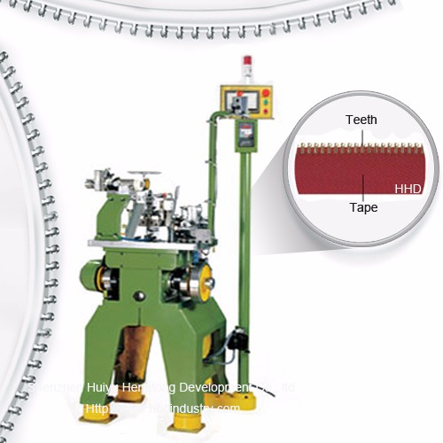 High Speed Europe Type Metal Zipper Teeth Planting Machine