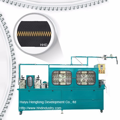 High Speed Metal Zipper Teeth Polishing Machine