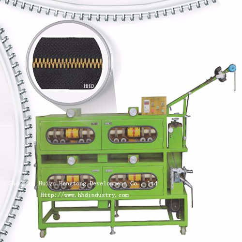 High Speed Metal Zipper Miorr Polishing Machine 24 Cloth Wheels