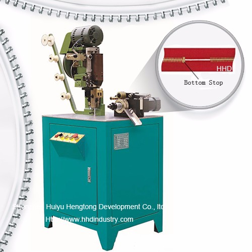 Auto Metal Zipper Behean Stop Machine