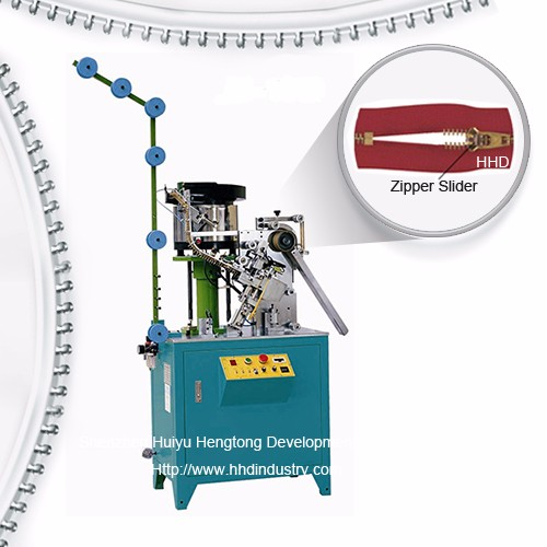 Auto Metal Zipper Spring Slider Mounting Machine