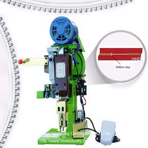 Erdi Atuo Metal Zipper Behean Stop Machine