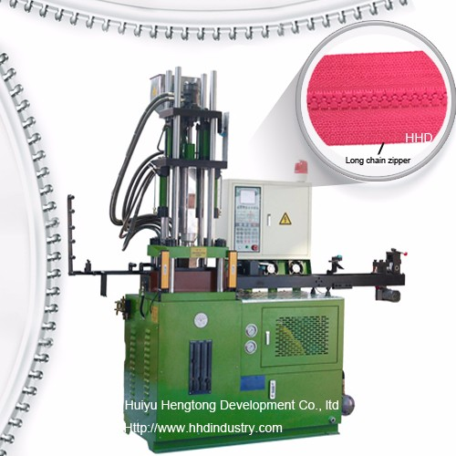 Auto Plastic Zipper Teeth Planting Machine