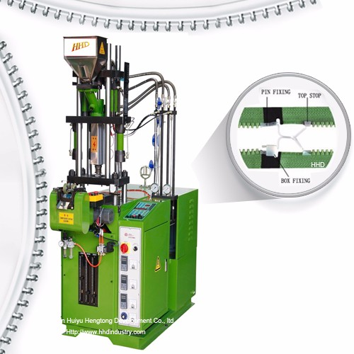 Auto Plastic Zipper Open End Injection Machine