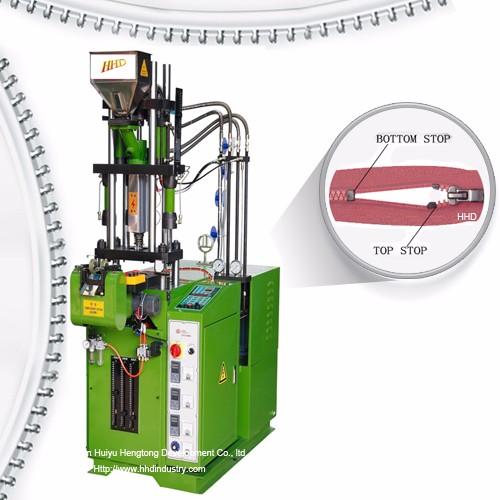 Auto Plastic Zipper Close End Injection Machine