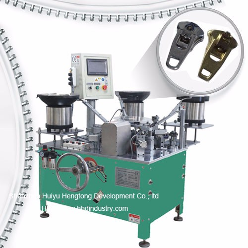 Spring Zipper Slider Assamblee Machine