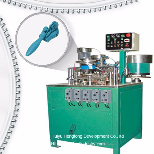Invisible mkpọchi uwe Slider Assembly Machine