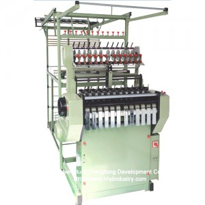 High Speed ​​Nylon Rits Tape Weaving Machine