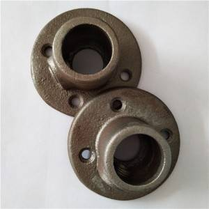 Hot dip galvanized Malleable cast Iron key clamp Pipe Fittings Galvanized