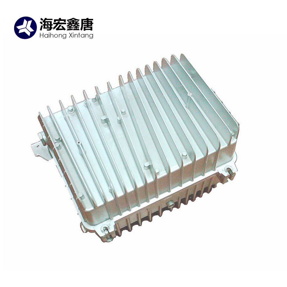 China high precision aluminum die cast electronic spare parts