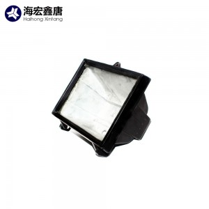 China manufacturer OEM aluminum led shell flood light housing die casting parts