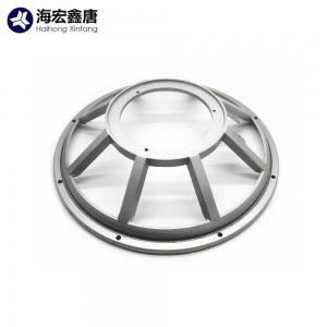 China aluminum die casting led lamp shade light base