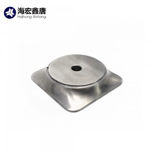 China manufacturer OEM aluminum die casting metal office chair base
