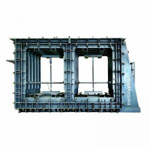 Bi-apartment Horizontal Integrated Box Culvert Mould