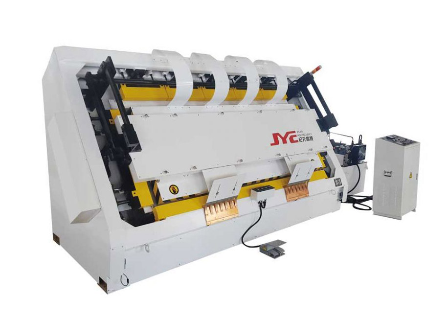 HF slant door frame assembly machine Featured Image