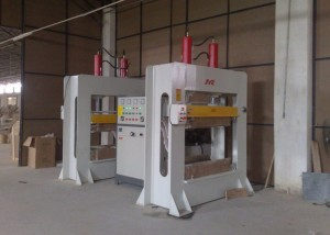 HF wood bending press machine