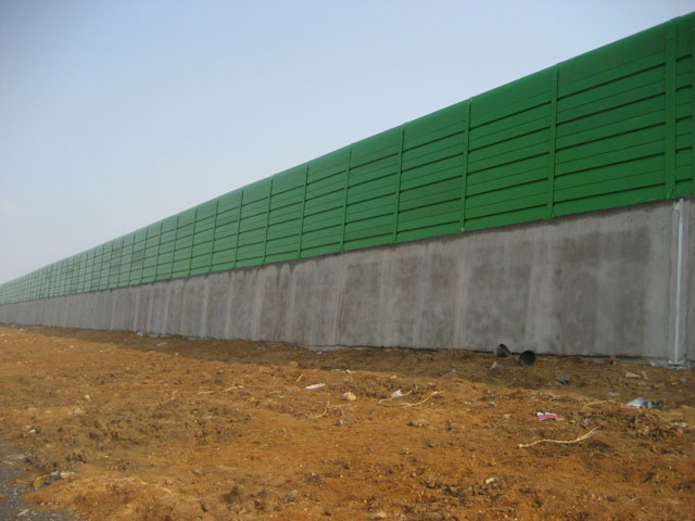 How to prevent noise reduction from noise reduction sound insulation barrier?